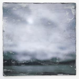 encaustic painting by Oliver Tollison