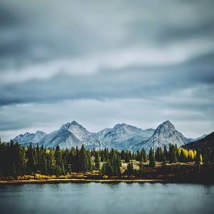 High Alpine Lake in Colorado